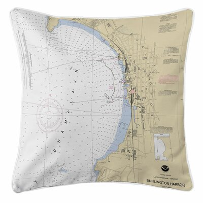 Ellisburg Burlington, VT Throw Pillow
