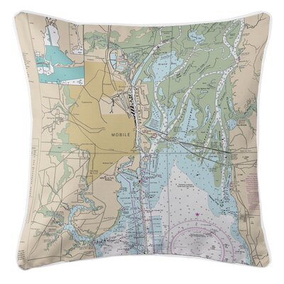 Ellisburg Mobile, AL Throw Pillow