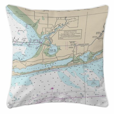 Ellisburg Gulf Shores, AL Throw Pillow