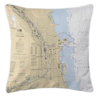 Addyson Chicago Harbor, IL Throw Pillow