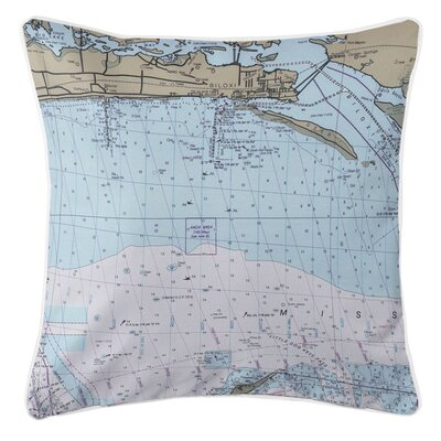 Addyson Biloxi, MS Throw Pillow
