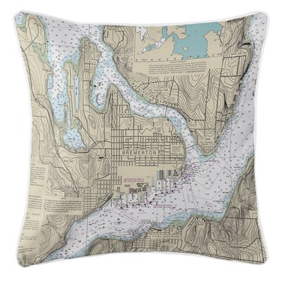 Ellisburg Bremerton, WA Throw Pillow