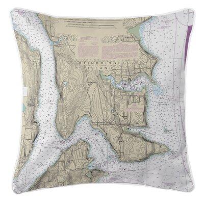 Adamsville Bainbridge Island, WA Throw Pillow