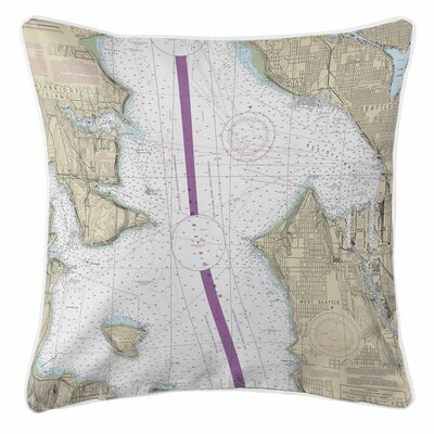 Adamsville Seattle, WA Throw Pillow