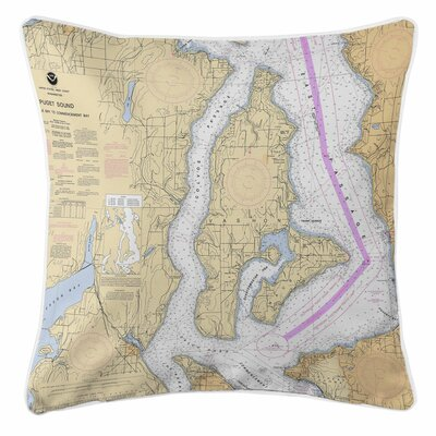 Addyson Vashon Island, Maury Island, WA Throw Pillow
