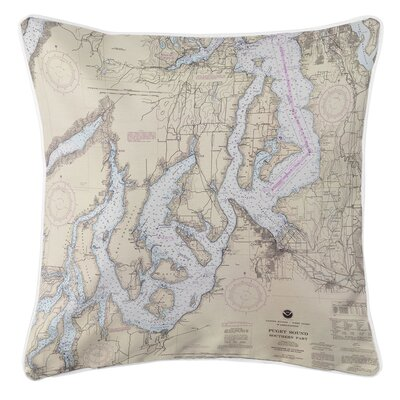 Ellisburg Puget Sound Southern, WA Throw Pillow