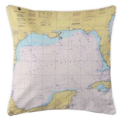 Ellisburg Gulf of Mexico Throw Pillow