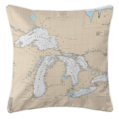 Addyson Great Lakes Throw Pillow