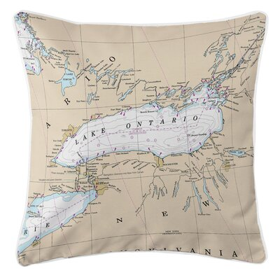 Addyson Lake Ontario Throw Pillow