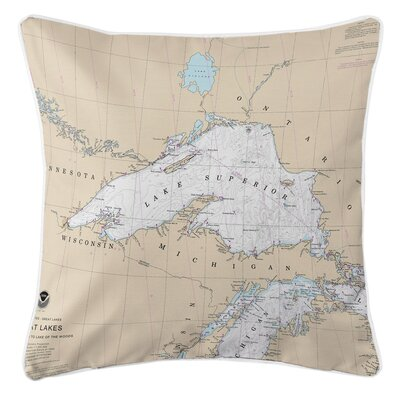 Addyson Lake Superior Throw Pillow
