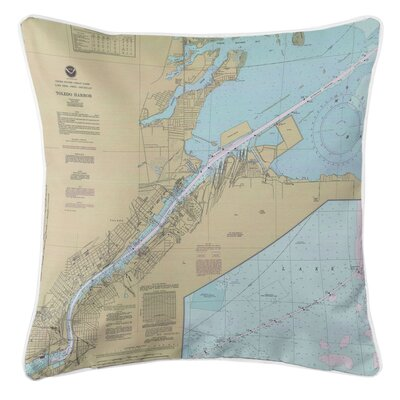 Addyson Toledo Harbor, OH Throw Pillow