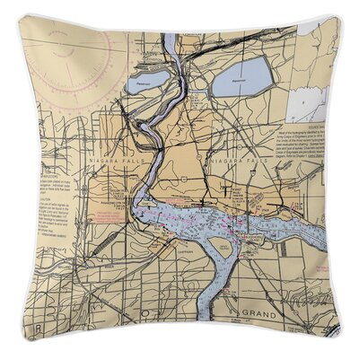 Addyson Niagra Falls, NY Throw Pillow