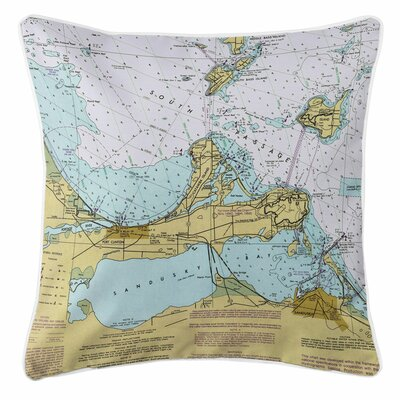 Ellisburg Port Clinton, Sandusky, OH Throw Pillow