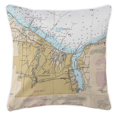 Ellisburg Rochester, NY Throw Pillow