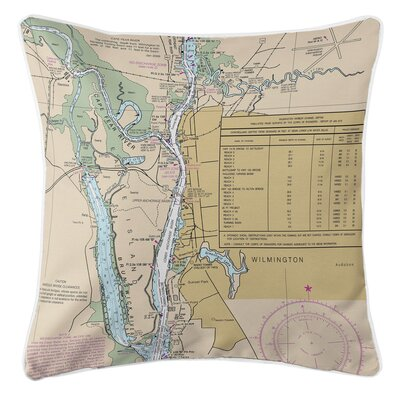 Ellisburg Wilmington, NC Throw Pillow