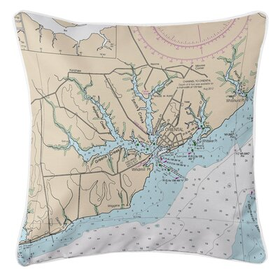 Ellisburg Oriental, NC Throw Pillow