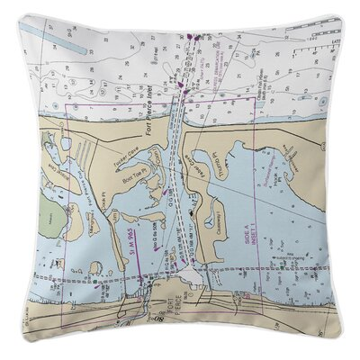 Addyson Fort Pierce Inlet, FL Throw Pillow