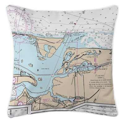 Willene St.Lucie Inlet, FL Throw Pillow