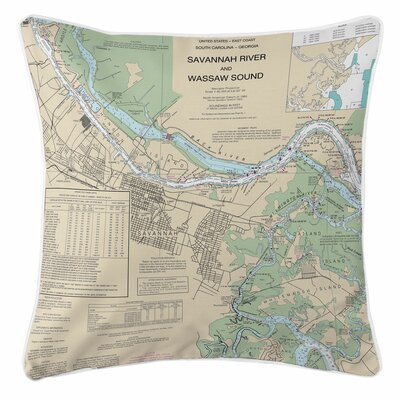 Addyson Savannah, GA Throw Pillow