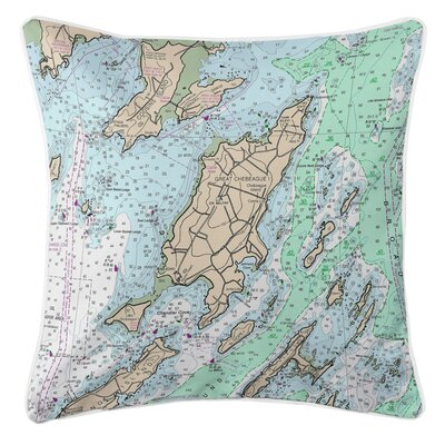 Addyson Chebeague Island, ME Throw Pillow