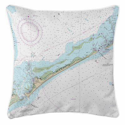 Addyson Ocracoke Island, NC Throw Pillow