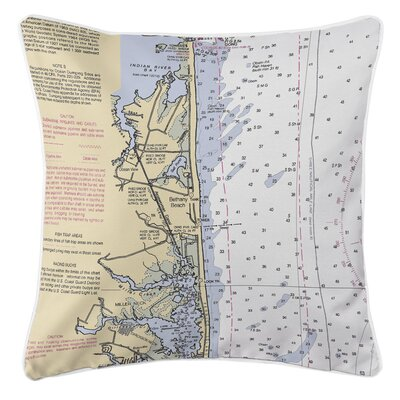 Addyson Bethany Beach, DE Throw Pillow
