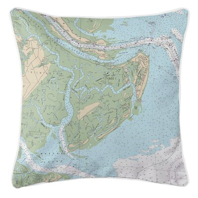 Addyson Tybee Island, GA Throw Pillow