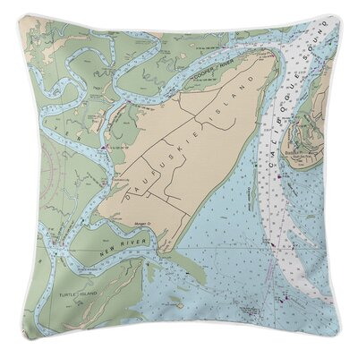 Addyson Daufuskie Island, SC Throw Pillow