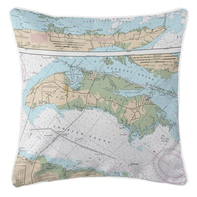Addyson Roanoke Island, NC Throw Pillow
