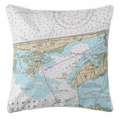 Addyson Kill Devil Hills, Nags Head, NC Throw Pillow