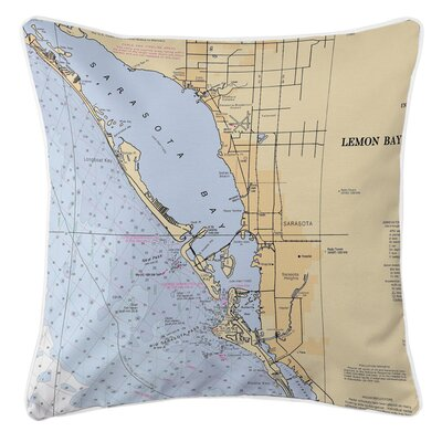 Ellisburg Sarasota, FL Throw Pillow