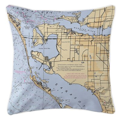 Ellisburg Bradenton, FL Throw Pillow