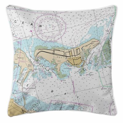 Ellisburg Key Biscayne, FL Throw Pillow