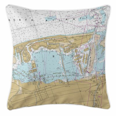 Addyson Miami Beach, FL Throw Pillow