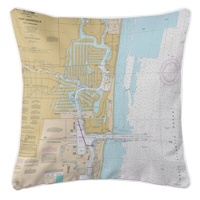 Addyson Fort Lauderdale, FL Throw Pillow