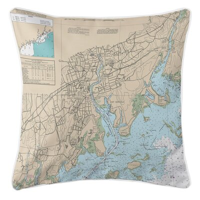 Ellisburg Norwalk, CT Throw Pillow
