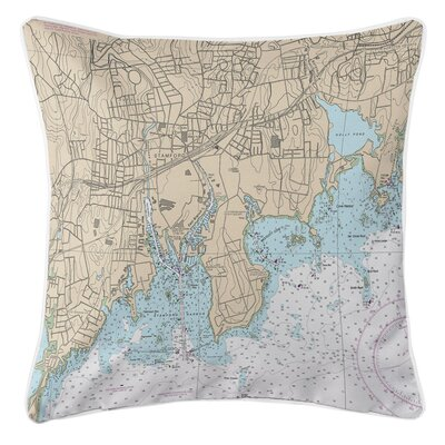 Ellisburg Stamford, CT Throw Pillow
