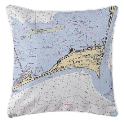 Ellisburg Cape Hatteras, NC Throw Pillow