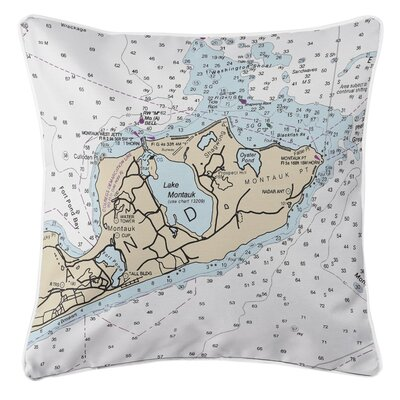 Addyson Montauk, NY Throw Pillow