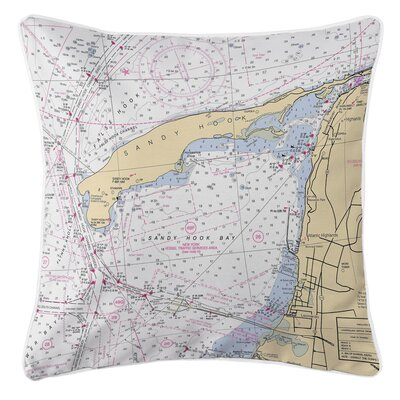 Ellisburg Sandy Hook, NJ Throw Pillow