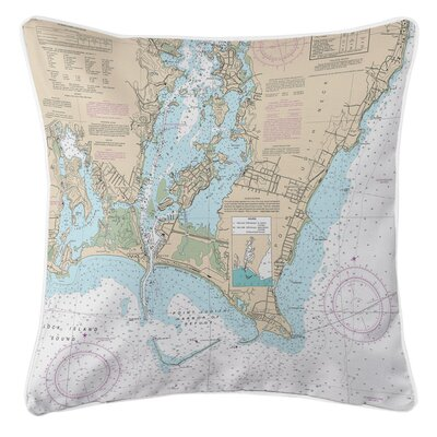 Addyson Point Judith Harbor, RI Throw Pillow