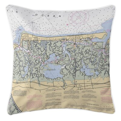 Ellisburg Stone Harbor, NJ Throw Pillow