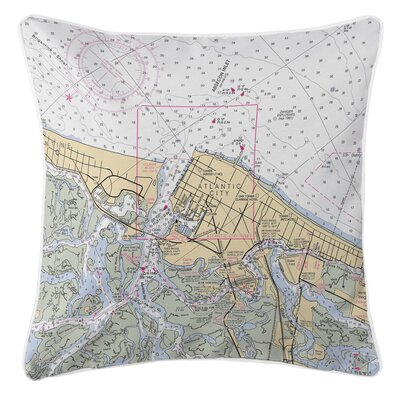 Addyson Atlantic City, NJ Throw Pillow