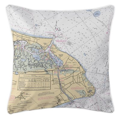 Ellisburg Cape May, NJ Throw Pillow