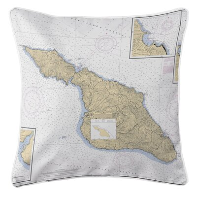 Addyson Santa Catalina Island, CA Throw Pillow