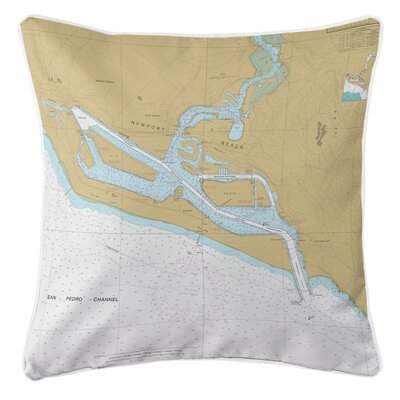 Ellisburg Newport Bay, CA Throw Pillow