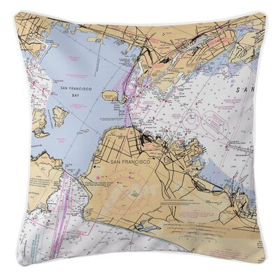Addyson San Francisco, Oakland, CA Throw Pillow