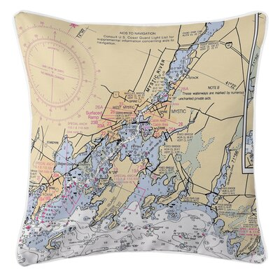 Ellisburg Mystic, CT Throw Pillow