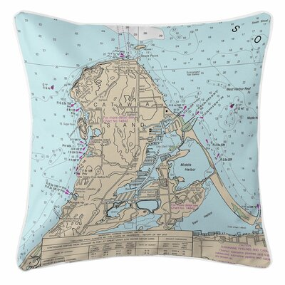 Ellisburg Catawba Island, OH Throw Pillow