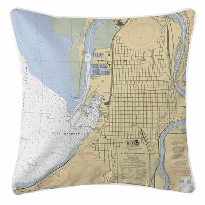 Everett, WA Throw Pillow